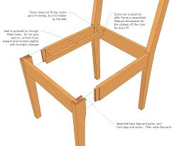 Dining Room Chair Plans Wood Kitchen Chairs You Can Also Download The Sketchup Model For