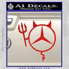 mercedes decal mercedes decal sticker a1 decals