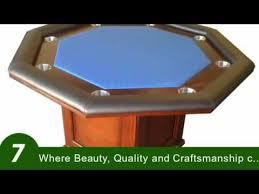 custom poker tables by danny vaittsman youtube
