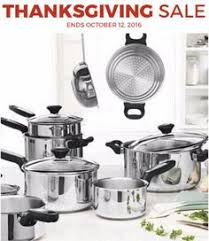 best black friday deals for cookware set searsca kenmore fusion 9 pc stainless steel cookware set was