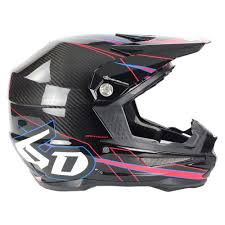 carbon fiber motocross helmets 6d helments king cobra of florida