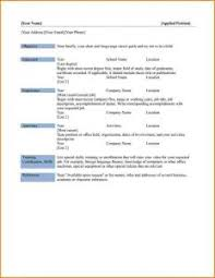 Ms Word Templates Resume Employable Skills For Resume American Marriage In Transition Essay