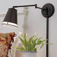 wall sconce reading light hardwired swing arm reading l wall bed mounted lights for beds