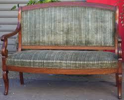 restaurer canapé époque restauration