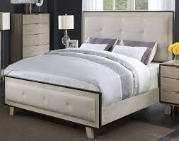 pearl white contemporary king bedroom set synchrony rc willey