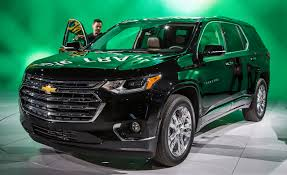 Car Dimensions In Feet 2018 Chevrolet Traverse Photos And Info U2013 News U2013 Car And Driver