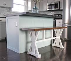 Diy Counter Height Table How To Build A Farmhouse Counter Height Bench For Your Kitchen