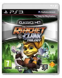 the ratchet u0026 clank trilogy classics hd ps3 ps3 amazon co uk