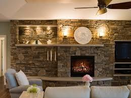 steinwand fã r wohnzimmer edles design für einen eyecatcher im wohnzimmer neben dem offenen