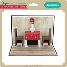 fold up card table 5x7 pop up card table chairs lori whitlock s svg shop