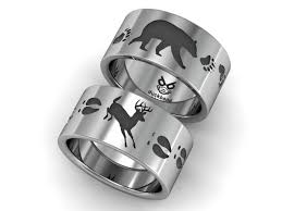 Duck Band Wedding Rings by Bear And Deer Track Ring Www Duckbandbrand Com Duck Band Rings