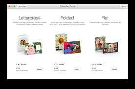 how to make your own greeting cards using photos on mac