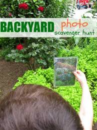 Backyard Activities For Kids Backyard Photo Scavenger Hunt No Time For Flash Cards
