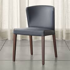 Curran Grey Dining Chair Crate And Barrel - Grey fabric dining room chairs