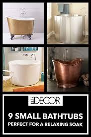 9 small bathtubs u2013 tiny bath tub sizes elledecor com