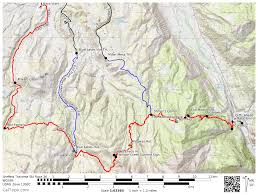 Avenza Pdf Maps San Juan Hut Systems Sneffels Traverse Ski Race February 12 2017