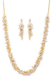 pearls necklace price images Buy real pearls necklace set from hyderabad looser set online JPG