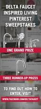 Delta Faucet Com 38 Best Delta Faucet Inspired Living Sweepstakes Images On