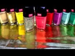 new wet n wild wild shine nail polish review youtube