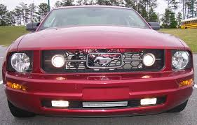 2007 mustang grill 2007 mustang pony package custom fog lights ford mustang forum
