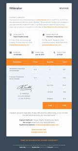 bootstrap templates for invoice template invoice template email free pdf creative html download