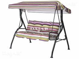 cuscini per sedia a dondolo set di cuscini con tetto per dondolo kate c001 08pb patio