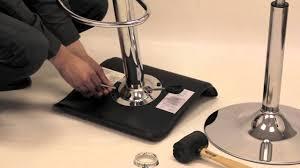 lumisource hydraulic bar stool dissasembly youtube