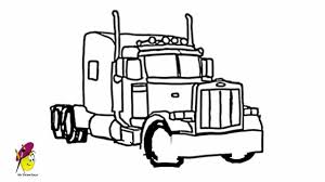 drawing of a truck fire truck how to draw a fire truck youtube