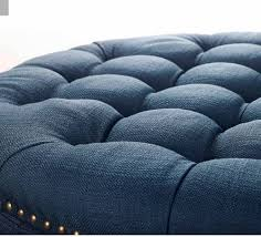 Safavieh Amelia Tufted Storage Ottoman Top New Navy Blue Ottoman For House Prepare Rinceweb Com