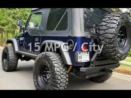 jeep sport tires 1997 jeep wrangler sport 2dr sport 116k lifted 35 road tires