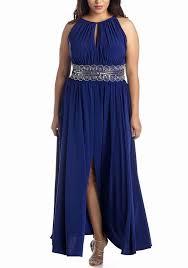 r m richards plus size dresses rm richards s plus size evening gown royal sleektrends