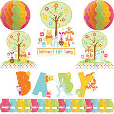 winnie the pooh baby shower decorations winnie the pooh baby shower decorating kit