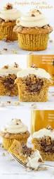 Pumpkin Cupcakes by Pumpkin Pecan Pie Cupcakes Bourbon Brown Sugar Frosting