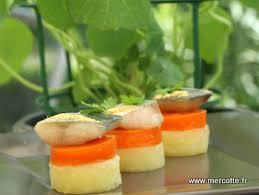 cuisine en bouche mise en bouche thuriès pomme de terre fondante gelée de carotte
