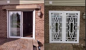 Security Patio Doors Security Door Chicago Security Door Installation Northern