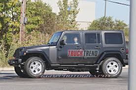 jeep wrangler side 2018 jeep wrangler mule spied again photo u0026 image gallery