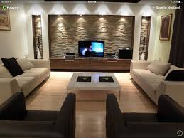 living room stone wall design dzqxh com