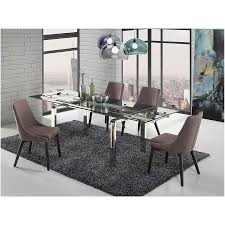 Contemporary Dining Chair Cutty Gray Wenge Modern Dining Chair Eurway Furniture