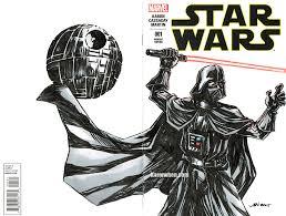 darth vader star wars sketch cover by nguy0699 on deviantart