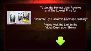 Cerama Bryte Cooktop Cleaner Review Cerama Bryte Ceramic Cooktop Cleaning Youtube