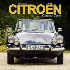classic citroen citroen classic cars calendar 2018 pet prints inc