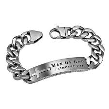 christian bracelet of god men s silver neo bracelet spirit and sg2142