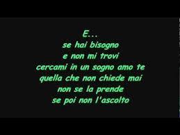 testo e di vasco vasco e with lyrics