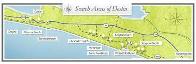 destin map emerald coast homes destin florida estate emerald coast