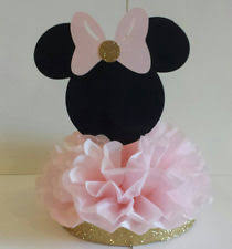 Balloons On Sticks Centerpiece by Minnie Mouse Centerpiece Party Supplies Ebay