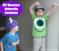 Monsters Inc Costumes Diy Monsters University Costumes Desert Chica