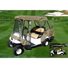 formosa covers golf cart driving enclosure for 4 seater with 2