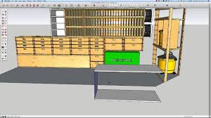 building a mobile woodshop part 13 3d design saves material and