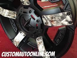 pink camo jeep custom automotive wheels xd rockstar ii rs 2 811 black