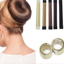 bun scrunchie women hair band slap snap scrunchie ponytail holder hair styling